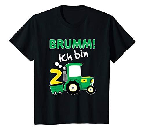 Kinder Traktor Shirt 2. Geburtstag Jungen 2 Jahre Shirt Trecker
