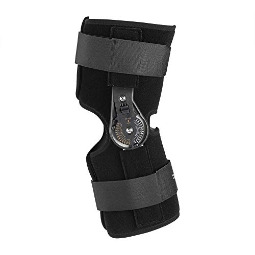 TMISHION Soporte Ajustable para el Tobillo de la articulación de la Rodilla, ortesis Transpirable para la ortesis de la Rodilla Correa para el Tobillo(S)