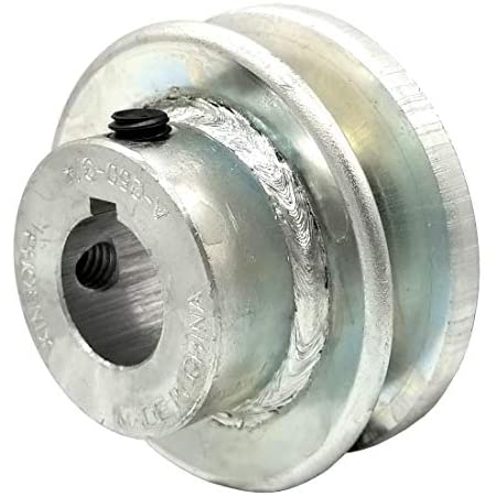 """1A V Belt Pulley 6-1//2/"""" Single Groove A Section 3//4/"""" Bore 3//16/"""" Keyway Al"""