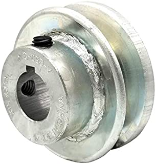 1//2Fixed V-Belt Pulley Zamak3 3.5OD