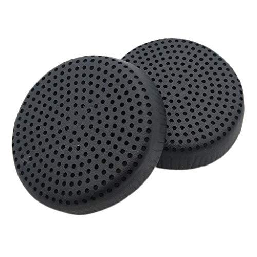 KESOTO Auricular Carcasa Repuesto para Auriculares Skullcandy Grind Wireless/Repuesto Concha Esponja Auriculares Agrietados Cuero Proteína