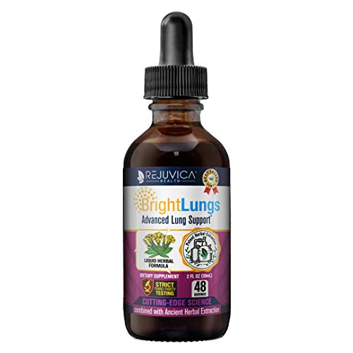 Bright Lungs - Lung Cleanse & Detox for Lung & Respiratory Health | Fast-Acting Liquid Formula