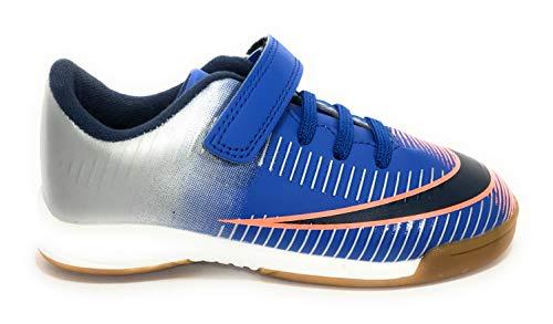 DEMAX Deportivos Futbol-Sala Velcro - Niños Color Azul Talla 30