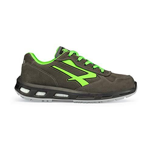 U-Power RL20174 Chaussures de Sécurité Gris/Vert S3 SRC Taille 44