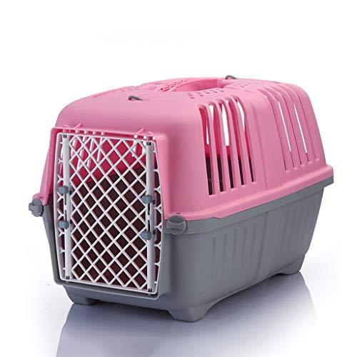 ZCWYP Transporte en el avión Viaje al Aire Libre Práctica Jaula de Transporte de Mascotas Desmontable (Size : Large)