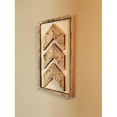 Chevron Wall Decor, Chevron Wall Art, Wooden Wall Art, Rustic Wall Decor, Wooden Chevrons, Arrow Decor, Chevron Arrow, Arrow Wall Decor,