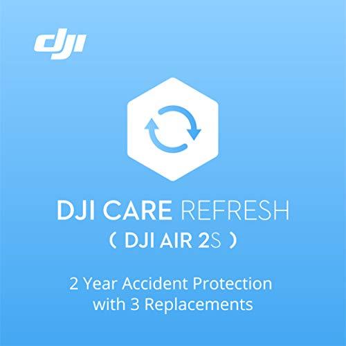 DJI Air 2S Care Refresh 2 Anni, fino a Tre Sostituzioni Entro 24 Mesi, Supporto Rapido, Copertura contro Gli Incidenti e i Danni Causati Dall'Acqua, da Attivare Entro 48 Ore