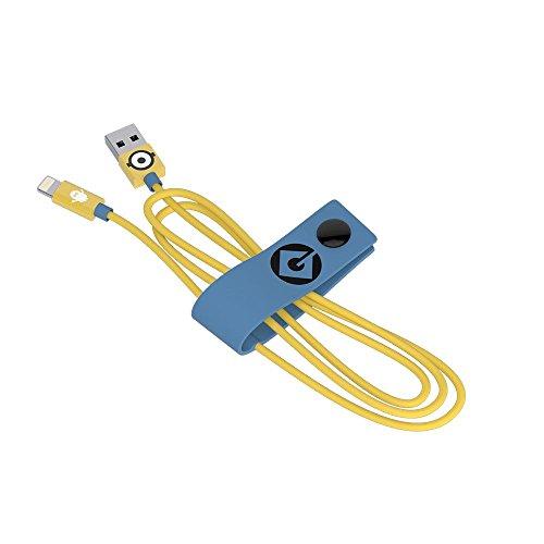 Cavo USB Lightning Carl (120 cm) - Trasmissione Dati e Ricarica per Apple - Originale Minions, Tribe CLR22100