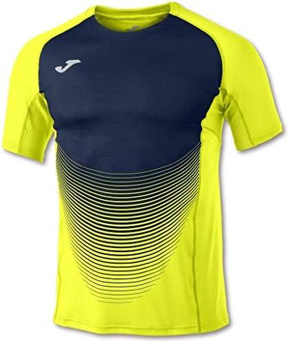 Camiseta Elite Vi Amarillo-Marino M/C Hombre