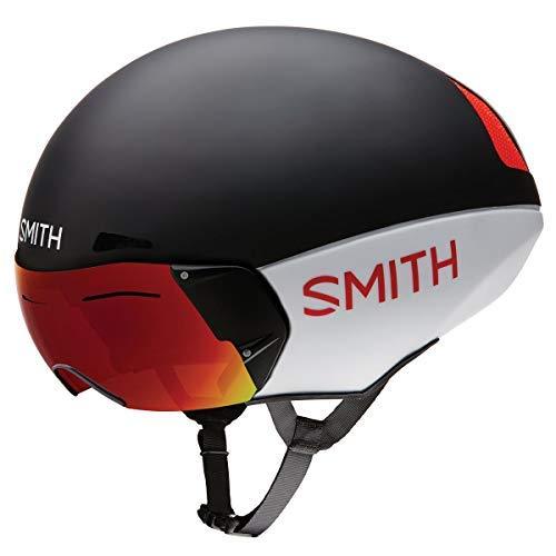 Smith Podium TT MIPS Bike Helmet Matte Red/White/Black L