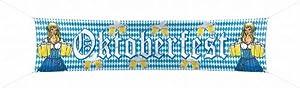 Folat 20981 – Straßenbanner Oktoberfest, 180 x 40 cm