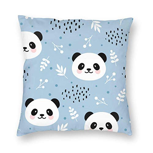 Moily Fayshow Throw Pillow Decorative Cushion Cover Pillowcase Cute Panda Pattern 40 X 40 Cm