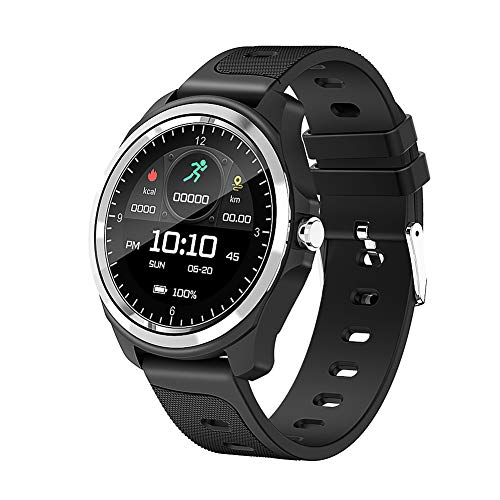Smartwatch,Fitness Tracker with Heart Rate Monitor Pedometer,Sleep Monitor, Vibration Alarm,Bluetooth 1.0 inch Touch Colour Display sportuhr, Smart Watch für Den amHerren für Android IOS