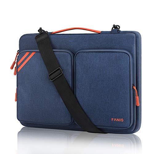 FANIS 14 Zoll Laptoptasche, Wasserfeste Laptop Schulterhülle, Schützende Laptoptasche Kompatibel mit 13,3 Zoll MacBook Pro/Air, ThinkPad, Dell XPS13, Surface