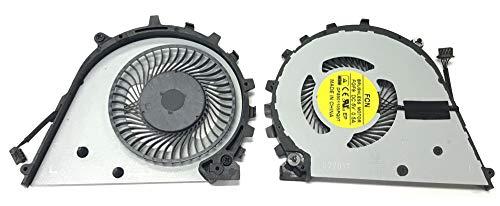 THT Protek GPU Version Lüfter Kühler Fan Cooler für HP ZBook 17 G4 (Y6K38EA), G4 (Y6K17EA)