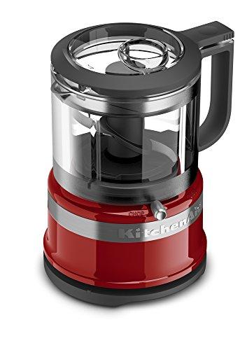 KitchenAid KFC3516ER 3.5 Cup Mini Food Processor, Empire Red