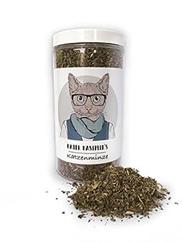 Cataire (herbe aux chats) rend votre chat heureux – 60 g qualité premium. Que la meilleure menthe pour votre petite boule de poil (coupé et séché). A utiliser comme encas ou jouet pour le chat.