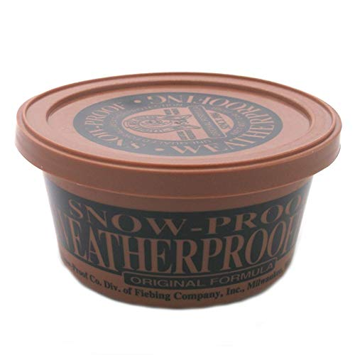 Snow Proof Weatherproofing Leather Conditioner 3oz, Clear, 3 Ounces