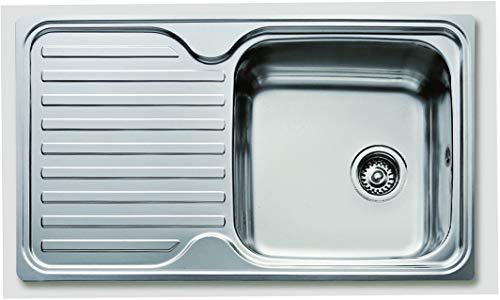 Essebagno évier Classic Inox 1 bac 86x50cm