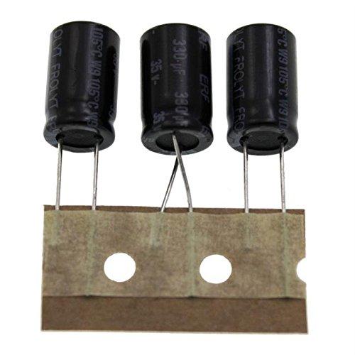 5x Frolyt ERM 100uF 100µF 25V Electrolytic Capacitor Elektrolyt Kondensator