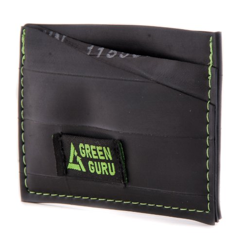 Green Guru Gear Bike Tube Upcycled Made in USA Card Wallet