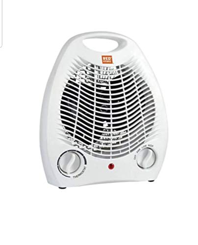 RedStone White Heater Fan