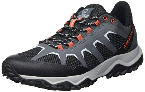 Merrell Fiery GTX, Zapatillas para Caminar Hombre, Negro (Castle Rock), 42 EU