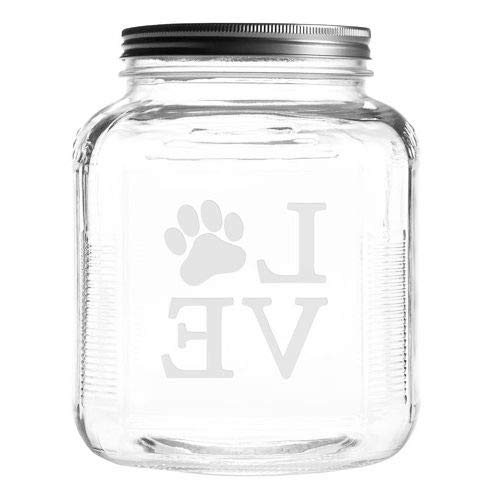 Amazing Deal OKSLO Arc& oscar lopaw 4 qt. pet treat jar (25847-81453-34523-79253)
