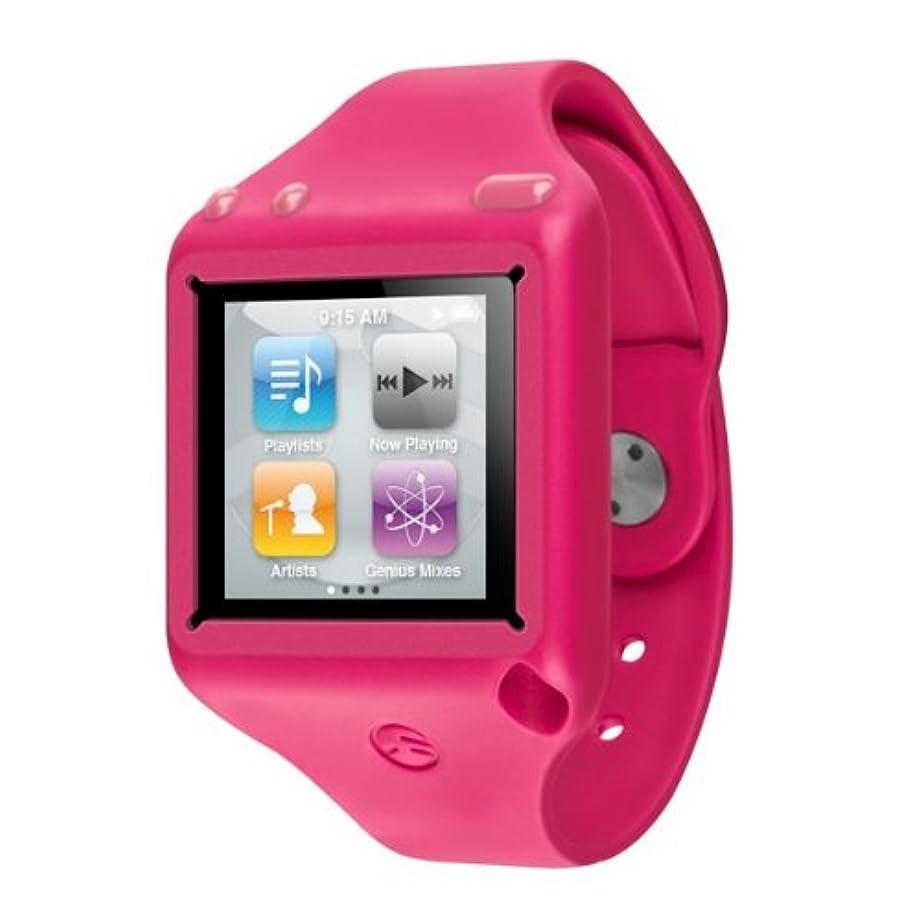 消防士挨拶ポルティコSwitchEasy Ticker for iPod Nano 6G Pink