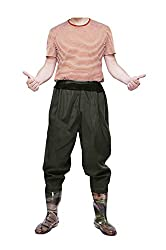 FengLiu Men's Fishing Chest Waders - Best Wading Pants