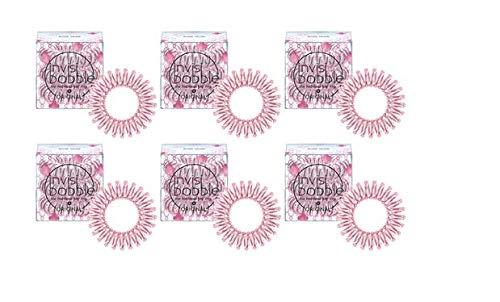 Invisibobble Original Rose Muse Lot de 3 paquets de 6 élastiques à cheveux