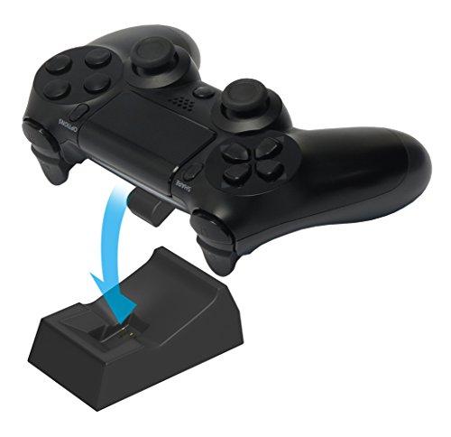 [PS4 overeenkomt] zet slechts oplader voor een voor afstandsbediening DUALSHOCK4 zwarte (uitgebracht in de herfst 2016)