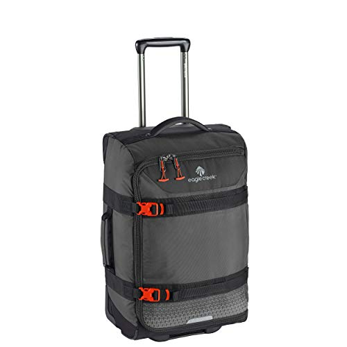 Price comparison product image Eagle Creek Expanse Wheeled Rolling Duffel Carry-On Bag,  Stone Grey