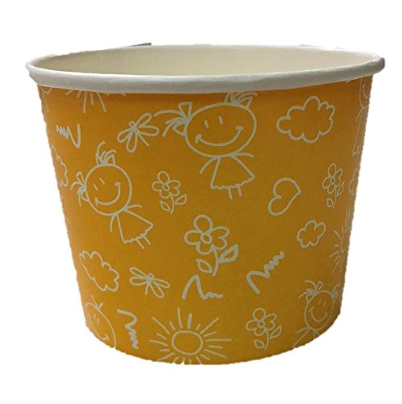 資本フラスコがっかりするニッチプラス 業務用 耐油?耐水加工使い捨てスープカップ イエロー(ジョイ) 290ml 50個入