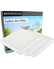 3 Pack White Cabin Air Filter for KIA,Hyundai,Replacement for CP819,CF11819