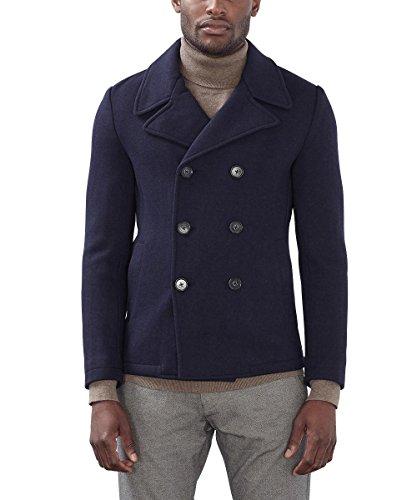 ESPRIT Collection Herren 096EO2G037 Jacke, Blau (Navy 400), X-Large (Herstellergröße: 52)