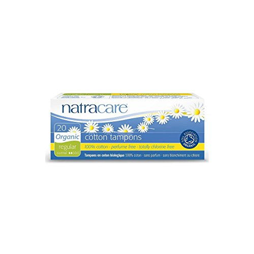 Natracare Tampon Normal sans Applicateur x 20 Non Bio