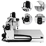 3040 3 Axis CNC Machine 300 x 400 mm Pro Milling Machine CNC Engraving Machine 400W CNC Router Machine USB CNC máquina de grabado 3 ejes (3040T 3 Axis)