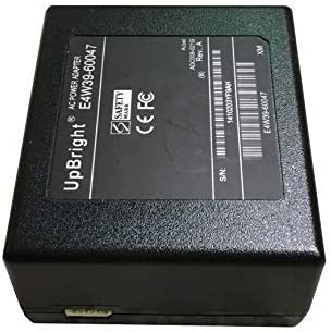 UpBright 32V 468mA 12V 166mA AC/DC Adapter Compatible with HP A9T80-60008 E4W39-60047 Officejet 3545 4515 4645 4646 4648 4630 4631 4632 4635 4639 6230 Envy 4500 6830 AIO Printer Chicony F1 A015R001L