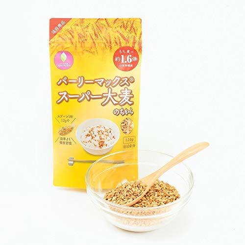 食物繊維量がもち麦の1.6倍「スーパー大麦のちから」(120g)