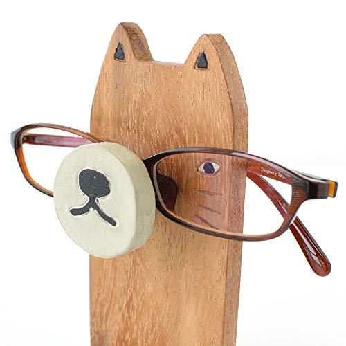 『メガネスタンド ネコ』 【メガネスタンド おしゃれ かわいい おもしろ 収納 眼鏡スタンド メガネ置き 眼鏡置き アニマルメガネスタンド 老眼鏡 めがね プレゼント アニマル 動物 雑貨】