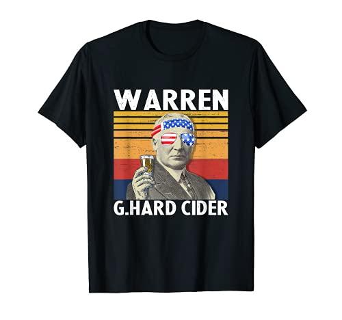 Warren G.Hard Cider 7月4日 ウォーレン・G. Harding Drinking Tシャツ