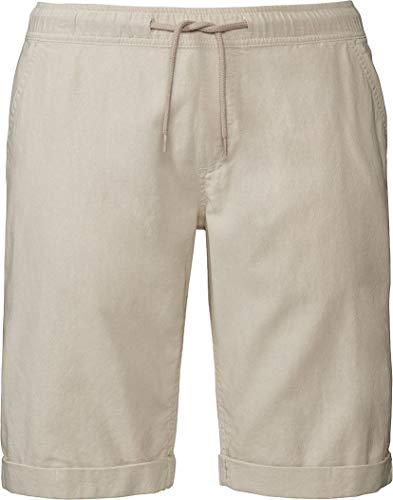 Livergy® Herren Shorts aus Leinen Leinenshorts Sommerhose +++ Plus Size +++ (beige, Gr. 60)