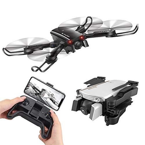 HUAXM RC Drone 4k Hauteur Fixe WiFi Optique débit Fixe Point Drone Pliant Télécommande Avion RC Drone, Mode Headless Idéal pour Les Adultes comprennent Drone