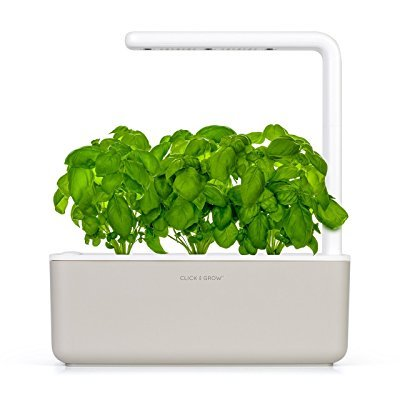 Click & Grow Smart Garden Jardinière avec 3 plants de basilique Lave