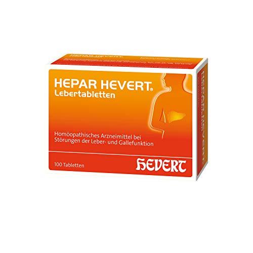 Hepar Hevert Lebertabletten, 100 St. Tabletten