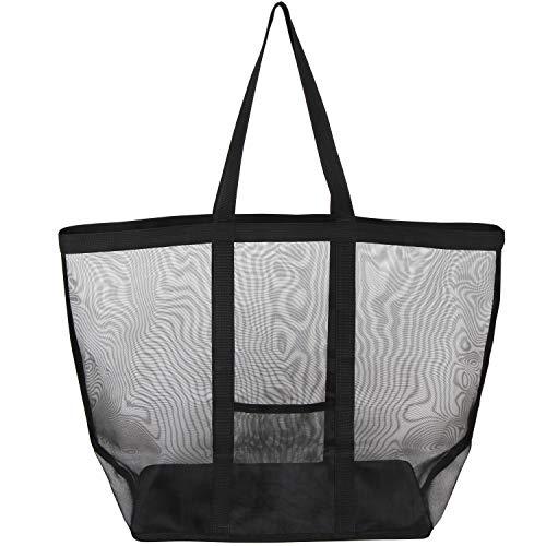 アストロ ランドリーバッグ ブラック 約幅39×奥行24×高さ40cm メッシュ素材 洗濯カゴ 洗濯物入れ 820-28 大