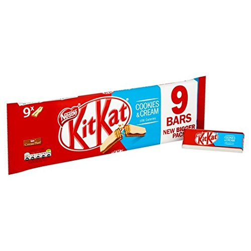 Kit Kat 2 Finger Cookies & Cream 8 x 20.8g