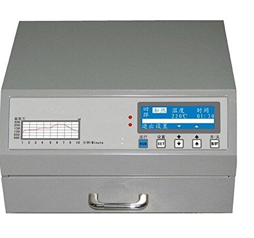 Gowe 600W automatique sans plomb Redistribution dynamique du four pour SMD travail Répétitif, zone de soudure 180* 120mm