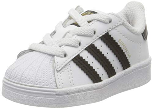 adidas Unisex-Kinder Superstar EL I Sneaker, Weiß (Ftwr White Core Black Ftwr White), 25 EU